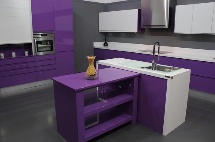Acabado Lacado para muebles de cocina