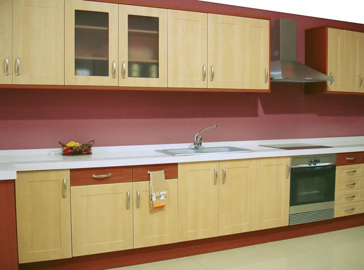 Material Polilaminados o PVC para muebles de cocina